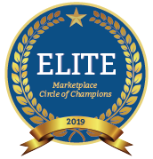 Elite member of the 2019 Marketplace Circle of Champions!